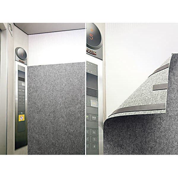 エレベーター保護カバー