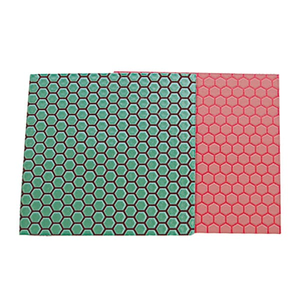 トイレ(陶器)用研磨シート ハード(緑)標準(赤)